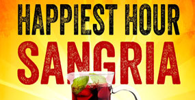Happy Hour Sangria - $6.50